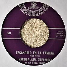 Marimba Alma Chiapaneca Escandalo en la Familia Latin Cumbia 45 Teen Ballad Flip