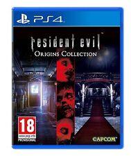 Resident Evil Origins Colección (PS4) PLAYSTATION Nuevo y Sellado