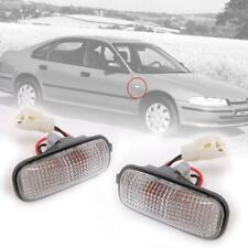 Side Marker Turn Signal Light Lamp Clear Lens LH RH Fit Honda Accord 1990-1993