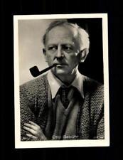 Otto Gebühr  Haus Bergmann Film Photos Zigarettenbild  ## BC 129058