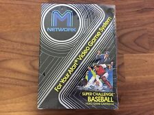 Super Challenge Baseball (Atari 2600, 1982) NEW! Sealed! RARE