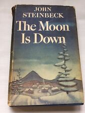 The Moon is Down 1942 - 1st Edition John Steinbeck - Occupied Resistance WWII