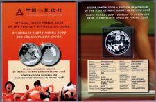 CHINA   10 Yuan 2007   Panda   1 OZ. Silber   Folder