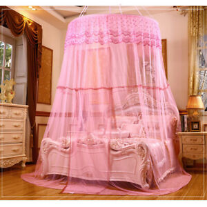 Large Lace Dome Mosquito Net Canopy Insect Protect Princess Double King  **!