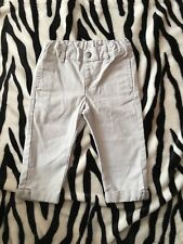 Baby boys trousers in light beige 12 mths from vertbaudet French brand