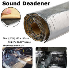 100*100cm Sound Deadener Car Heat Shield Insulation Noise Killer Material Mat