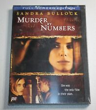 MURDER BY NUMBERS (DVD, 2002, Full Frame) SANDRA BULLOCK, RYAN GOSLING ~SEALED