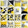 Pineapple Square Leaf Yellow Pillow Case Sofa Car Throw Cushion Cover Home Decor