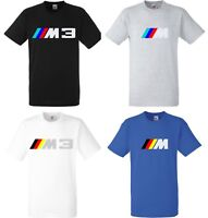 tee shirt homme BMW Pack M  M3 Argent Metal sport performance auto