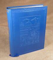 MARCO POLO - LE LIVRE DES MERVEILLES - BONNOT 1975  IN-4 (GRAND FORMAT) bleu