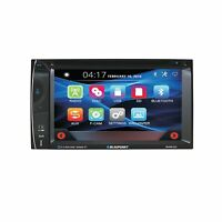 "Blaupunkt Car Audio Double DIN 6.2"" Touchscreen LCD DVD CD MP3 Bluetooth Stereo"