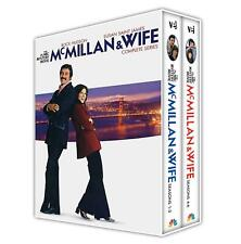 McMILLAN & WIFE complete series season 1 2 3 4 5 and 6. USA region 1. New DVD.
