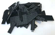 LEGO Black Bricks and Plates Mixed Bulk Lot 57 Pieces GOOD VARIETY of Parts
