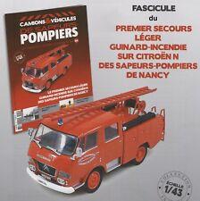 n° 124 CITROEN N Camion POMPIERS 1er Secours NANCY SDIS 54 FASCICULE BOOKLET