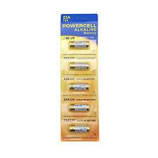 5 x 23A 21/23 A23 23GA 23AE L1028 12V Alkaline Battery