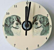 Bernese Mountain Dog CD Clock by Curiosity Crafts