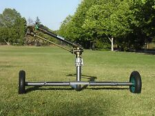 "NEW YUZUAK  JET50T 2"" LONGEST THROW DIRTY WATER  RAIN GUN SPRINKLER WITH CART"