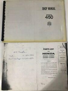 Parts List + Shop Manual per Honda CB 450