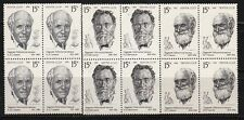 Russia 1991 6197-9  Russian Famous Nobel Price Winners bl. of 4 stamps MNH