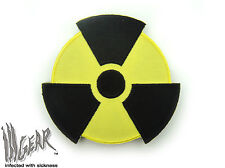 ill Gear Radiation  HOOK & LOOP PATCH Tactical Survival Radioactive Symbol Sign