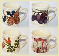 1st Quality Moorcroft Decorate Mug Cup Plum Bramble Beaufort House Floral