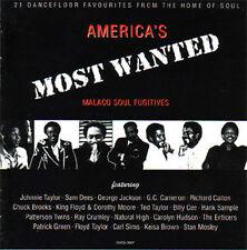 V.A. - AMERICA'S MOST WANTED Malaco Soul Fugitives CD