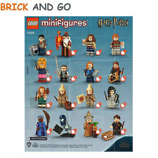 Lego minifigurines 71028 Harry Potter Série 2 - Sachet 1 Figurine