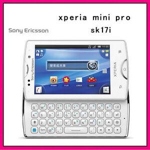 Sony Ericsson Xperia Mini Pro2 SK17i Slide Phone 3G WIFI Qwerty Keyboard Tmobile