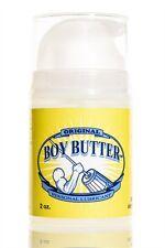 BOY BUTTER ORIGINAL 2 OZ. PUMP Boy Butter Original is an oil-based lubricant