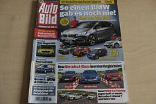 3) Auto Bild 37/2012 - Volvo V40 T3 Summum mit 150 - Audi A4 Avant 2.0 TDI Attra