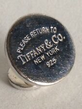 Tiffany And Co Sterling Silver Spare/Replacement Vintage Cufflink