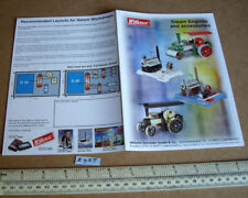 Wilesco 2 Page Catalogue 2012 Steam Powered Powered Toys