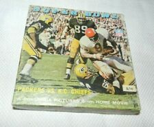 Super Bowl Packers vs Chiefs 8mm Reel to Reel Film Complete in Box CIB Tested