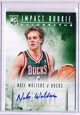 2013/14 PANINI INTRIGUE NATE WOLTERS IMPACT ROOKIE AUTOGRAPHS AUTO 1/1 RC