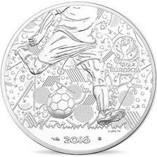 EUR, France, Monnaie de Paris, 10 Euro, UEFA Euro 2016, 2016, FDC, Argent #96319