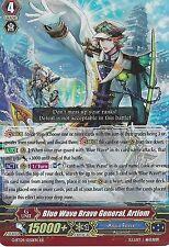 CARDFIGHT VANGUARD CARD: BLUE WAVE BRAVE GENERAL, ARTIOM - G-BT09/020EN RR