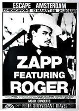 ZAPP & ROGER 1988 VIBE TOUR ORIGINAL AMSTERDAM CONCERT POSTER