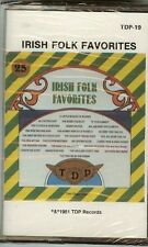 IRISH FOLK FAVORITES - CASSETTE - NEW