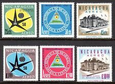 Nicaragua - 1958 Expo Brussels - Sc. C404-09 MNH