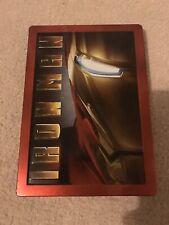 Iron Man Blu Ray Steelbook Large Steelbook Case Marvel Action