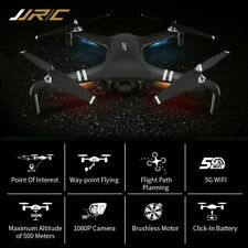 1080P Wifi RC HD Camera Drone Follow Me Aircraft Quadcopter Dual GPS Brushless