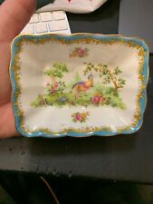 Royal Albert Chelsea Bird Sweet Small Square  Dish Olives Pickles