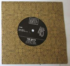 """TOM WAITS - LIE TO ME - CRAZY ABOUT MY BABY - 45gg 7"""" PROMO NUOVO UK Press"""