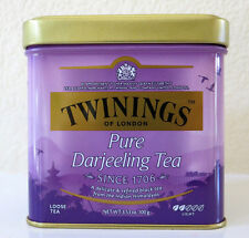Twinings of London Pure Darjeeling Loose Tea Tin - 3.53oz (100g) Quality  Chai