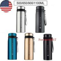 Stainless Steel Vacuum Insulated Coffee Mug Thermal Tumbler Travel Water Bottle