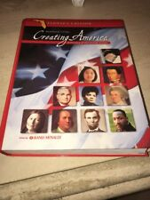 Creating America, Grade 8 History of the United States by Garcia Fl Homeschool