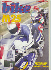 Bike October 1987  Honda NSR250 Transalp CMX250C KR250  TZR250 Cagiva Elefant
