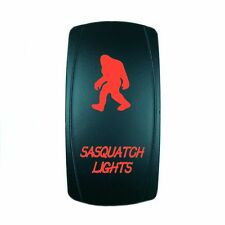 12V 20A ROCKER SWITCH LED SASQUATCH LIGHTS RED LASER LED UTV BOAT TRUCK