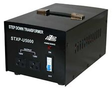 Big 5000W 240V to 120V Step Down Transformer USA to Australian Voltage Converter