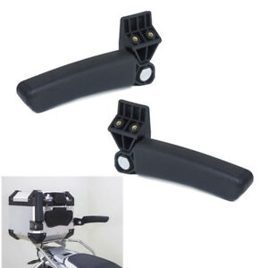 2pcs Universal Motorcycle Armrest Accessories For Tail Top Box Case Need Drill